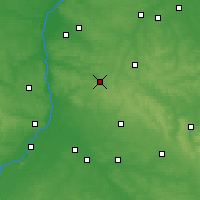 Nearby Forecast Locations - Kraśnik - Map