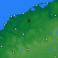 Nearby Forecast Locations - Słupsk - Map