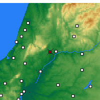 Nearby Forecast Locations - Torres Novas - Map