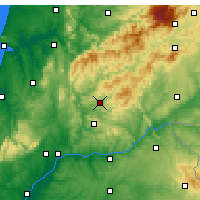 Nearby Forecast Locations - Sertã - Map