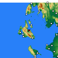 Nearby Forecast Locations - Sami - Map