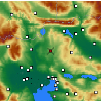 Nearby Forecast Locations - Kilkis - Map