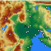 Nearby Forecast Locations - Giannitsa - Map