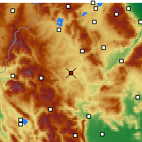 Nearby Forecast Locations - Grevena - Map