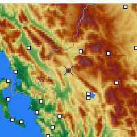 Nearby Forecast Locations - Kalpaki - Map