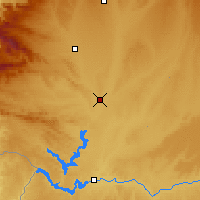 Nearby Forecast Locations - Benavente - Map