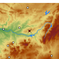Nearby Forecast Locations - Úbeda - Map