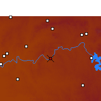 Nearby Forecast Locations - Parys - Map