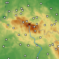 Nearby Forecast Locations - Špindlerův Mlýn - Map