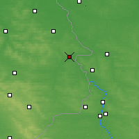 Nearby Forecast Locations - Hrubieszów - Map