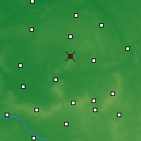 Nearby Forecast Locations - Krotoszyn - Map