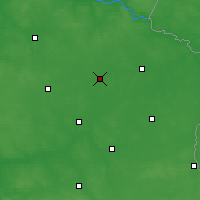 Nearby Forecast Locations - Międzyrzec Podlaski - Map