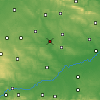 Nearby Forecast Locations - Pińczów - Map