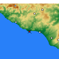 Nearby Forecast Locations - Licata - Map