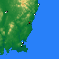 Nearby Forecast Locations - Gorey - Map