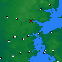 Nearby Forecast Locations - Vejle - Map