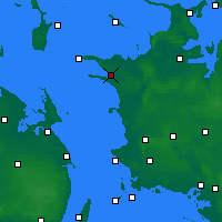 Nearby Forecast Locations - Kalundborg - Map