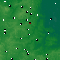 Nearby Forecast Locations - Corby - Map