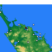 Nearby Forecast Locations - Whangaroa - Map