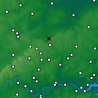 Nearby Forecast Locations - Letchworth - Map