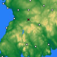 Nearby Forecast Locations - Cumnock - Map