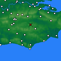 Nearby Forecast Locations - Royal Tunbridge Wells - Map