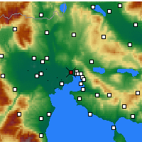 Nearby Forecast Locations - Stavroupoli - Map