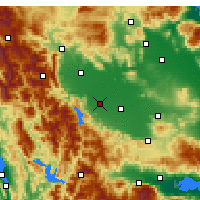 Nearby Forecast Locations - Karditsa - Map