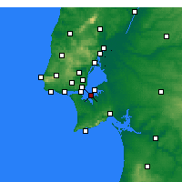 Nearby Forecast Locations - Barreiro - Map
