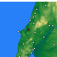 Nearby Forecast Locations - Caldas da Rainha - Map