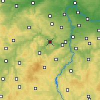 Nearby Forecast Locations - Beroun - Map