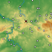 Nearby Forecast Locations - Varnsdorf - Map