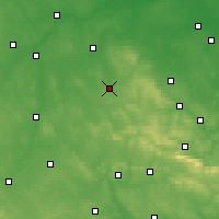 Nearby Forecast Locations - Końskie - Map