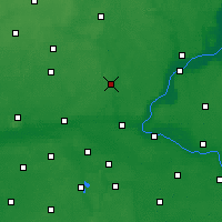 Nearby Forecast Locations - Koronowo - Map