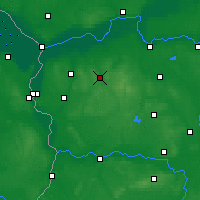 Nearby Forecast Locations - Sulęcin - Map