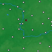 Nearby Forecast Locations - Swarzędz - Map