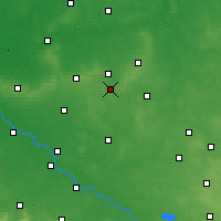 Nearby Forecast Locations - Syców - Map