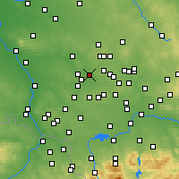 Nearby Forecast Locations - Zabrze - Map