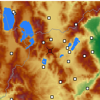 Nearby Forecast Locations - Verno - Vitsi - Map