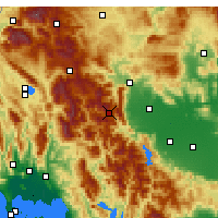 Nearby Forecast Locations - Pertouli - Map