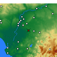 Nearby Forecast Locations - Utrera - Map
