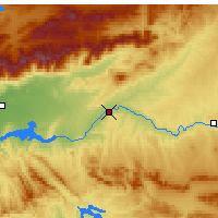 Nearby Forecast Locations - Talavera de la Reina - Map