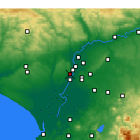 Nearby Forecast Locations - Mairena del Aljarafe - Map