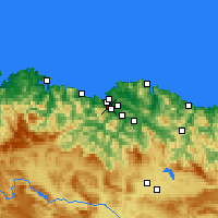 Nearby Forecast Locations - Sestao - Map