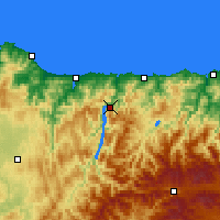 Nearby Forecast Locations - Castrillón - Map