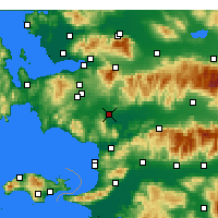 Nearby Forecast Locations - Torbalı - Map