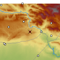 Nearby Forecast Locations - İdil - Map