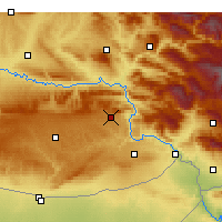 Nearby Forecast Locations - Dargeçit - Map