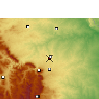 Nearby Forecast Locations - Hoedspruit - Map