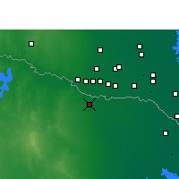 Nearby Forecast Locations - Reynosa - Map
